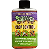 Trifecta Crop Control - ALL-IN-ONE Natural Pesticide, Fungicide, Miticide, Eliminate Spider Mites, Powdery Mildew, Botrytis and More. SUPER-CONCENTRATED NON-TOXIC Formula - 4 Ounce