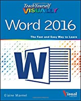 Teach Yourself VISUALLY Word 2016 Front Cover