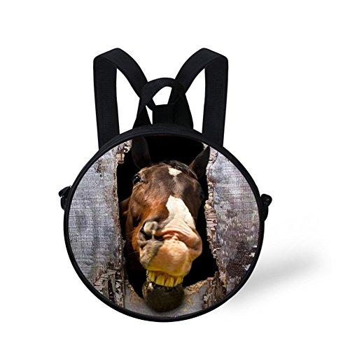 FancyPrint Bag Round body Bag Cross for Circle Women Print Nyec0352i Stylish fTOZntrf