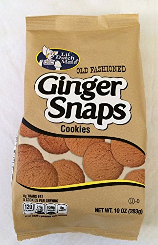Fashioned Ginger Snaps Cookies (Two 10oz Bags) (Old Fashioned Ginger Snaps)