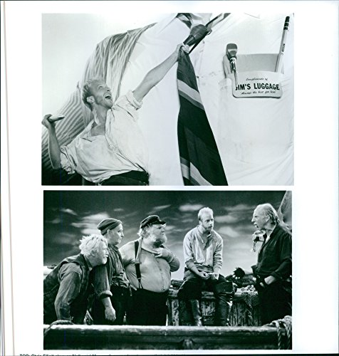 Old-fashioned photo of 1994Posters of Chris Elliott,Brian Doyle-Murray, James Gammon and Ritch Brinkley in the movie Cabin Boy.