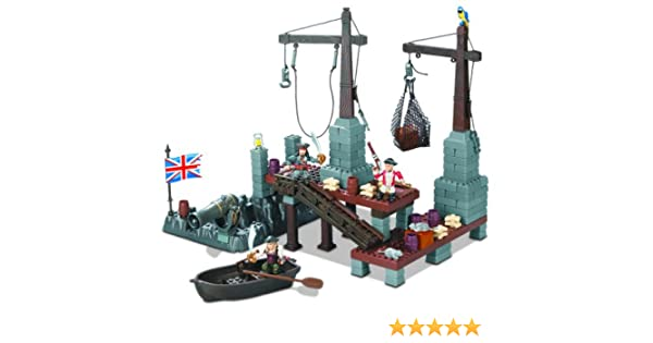 Pirates of the Caribbean Mega Bloks 1016 Port Royal: Amazon.es: Juguetes y juegos