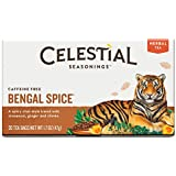 Celestial Seasonings Herbal Tea - Bengal Spice - Caffeine Free - 20 Bags (Pack of 6)