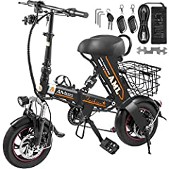 Folding Electric Bike  If you're looking to explore some new experience, expand your weekly travel, and have some fun doing it, the mini electric mountain bicycle give you the ride of your travel. The frame was constructed from high carbon st...