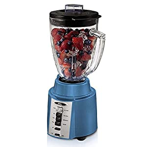 Oster Rapid Blend 300 Plus 8-Speed 6-Cup 450 Watt Blender w/Boroclass Glass Jar – Works nice, blue base looks cheap, short cord