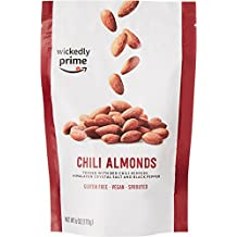 Wickedly Prime Sprouted Almonds, Chili, 6 Ounce