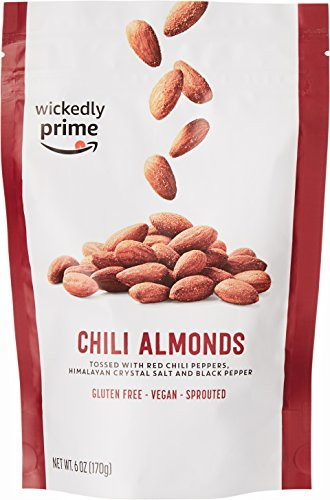 (Wickedly Prime Sprouted Almonds, Chili, 6 Ounce)