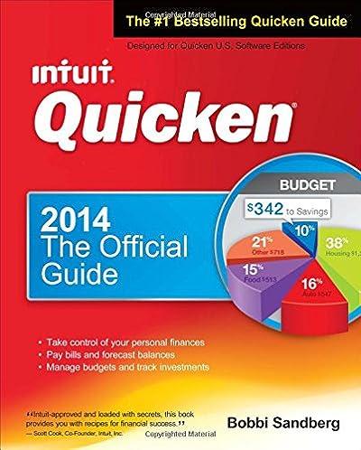 amazon com quicken 2014 the official guide quicken press rh amazon com Quicken 2014 Features Quicken 2010 Graph