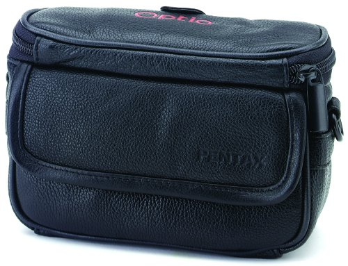 Pentax Leather - Pentax PTX-L80 Soft Leather Case for Optio MX Digital Cameras