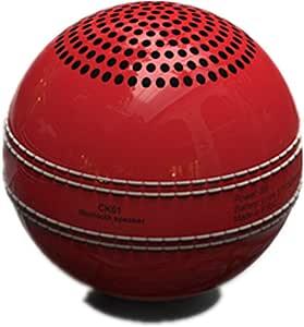New Ideas Cricket Bluetooth Wireless Speaker Elf Mini Portable Bluetooth Ball Speaker,Red