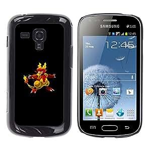 LECELL--Funda protectora / Cubierta / Piel For Samsung Galaxy S Duos S7562 -- P0kemon Char --
