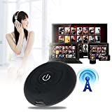 Businda Wireless Audio Transmitter, Multi-point Support Two Bluetooth Headphones,Stereo Music Dongle Adapter for TV Smart PC DVD MP3 Player iPod