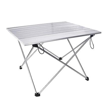 Garden Supplies Ultra-light Folding Aluminium Alloy Portable Folding Table For Camping Outdoor Activties Foldable Picnic Barbecue Desk Table Bbq