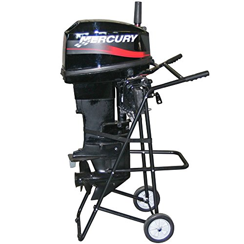 Rage Powersports OMC-130 30 HP Outboard Motor Cart and Engine Stand (Rack Motor Outboard)