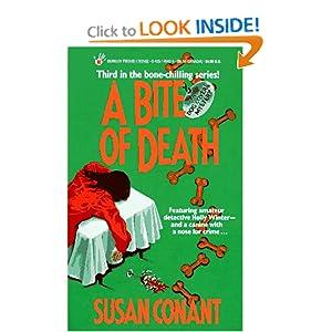 A Bite of Death Susan Conant