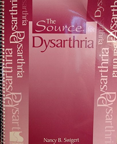 The source for dysarthria