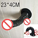 ZHS Cheap!Big Cock, huge Anal vibrator Dildo,Realistic Penis With Suction Cup,Adult Sex toys for Woman,Health and safe Q54(1PC)