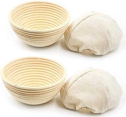 Hot Bread Banneton Brotform Dough Basket Rising Multi-Size Rattan Bread Proof ZH