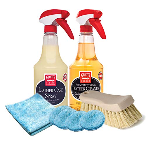 Griot's Garage Leather Care Bundle