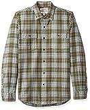 Amazon Brand – Goodthreads Men's Slim-Fit Long-Sleeve Plaid Herringbone Shirt