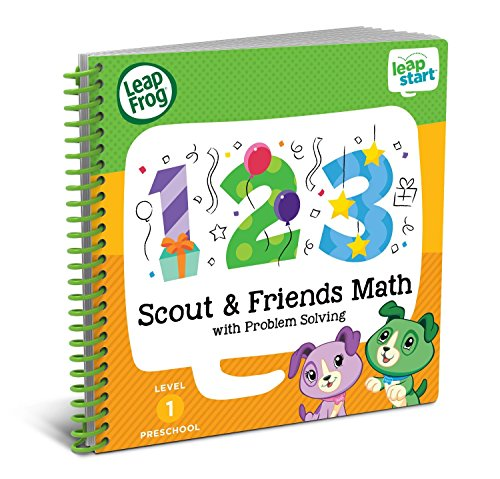 LeapFrog LeapStart Preschool Activity Book: Scout & Friends