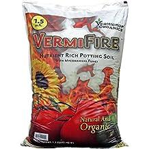 Vermicrop VCFIRE VermiFire Nutrient Rich Potting Soil, 1.5cf