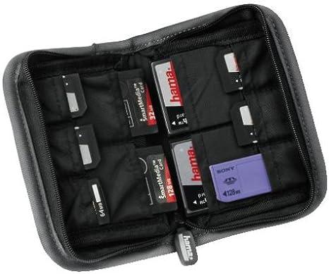 Hama Speicherkarten Tasche Für 10 Speichermedien Grau Kamera