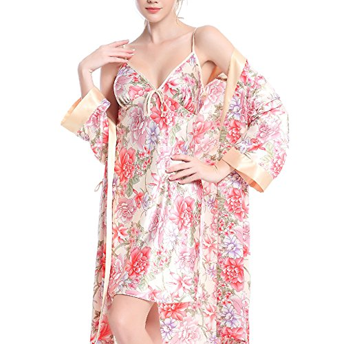 Camicia Spring Camicia Autumn Service Apricot Sling Home Composto Notte Notte Silk Set Summer Pigiama Da Pezzi And Due Da Ladies Da Sexy O8wZEPP