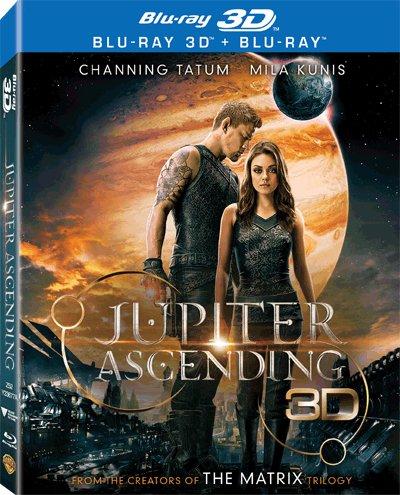 Jupiter Ascending (2 Disc Lenticular Edition) (Region A Blu-Ray) (Hong Kong Version) Chinese subtitled