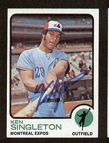 Ken Singleton #232 signed autograph auto 1973 Topps Baseball Trading Card - Singleton Signed