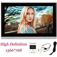 10.1 Inch HD 1080P Car Rear-Seat Backseat Headrest Monitor Android 6.0 Quad Core Ultra-Clear LCD Wide Screen with 8GB ROM 2GB RAM USB/SD/HDMI WIFI Screen Mirroring without DVD Player