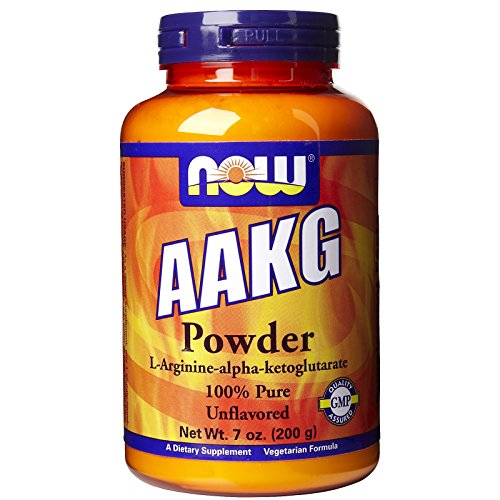 AAKG, PURE POWDER, 7 OZ by Now Foods (Pack of 2) (Now Foods Aakg)