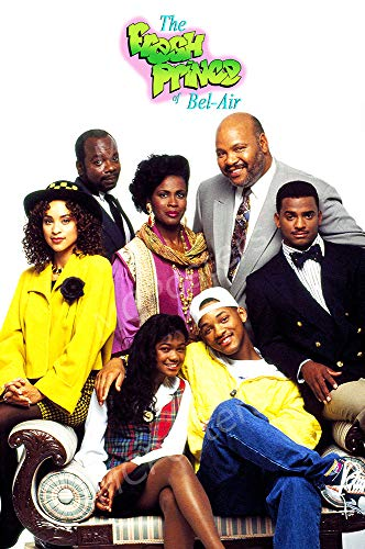 MCPosters - Fresh Prince of Bel Air TV Show Series Poster Glossy Finish - TVS802 (24
