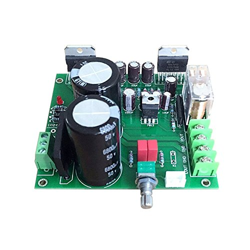 AOSHIKE TDA7293 Subwoofer Amplifier Board 100Wx2 2.0 High Power Amplifiers Board with Speaker Protection For DIY Speaker AMP