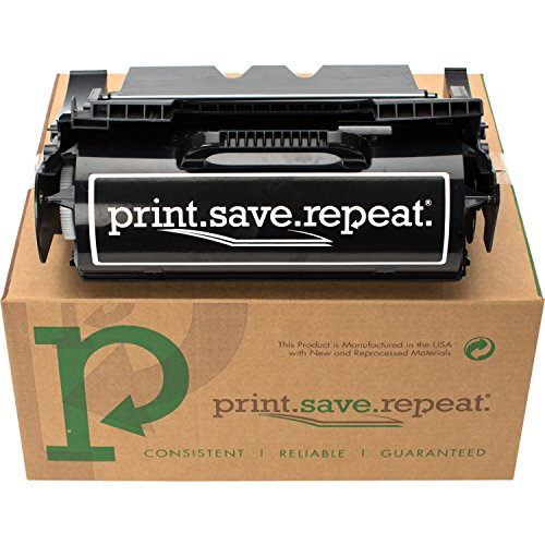Label Applications 21000 Yield - Print.Save.Repeat. Lexmark 64004HA High Yield Remanufactured Label Applications Toner Cartridge for T640, T642, T644 [21,000 Pages]
