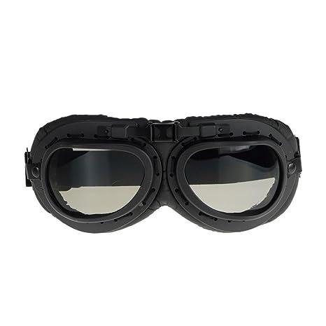 Occhiali da sole sport outdoor retro occhiali da vista moto cross-country viaggio occhiali anti-ultravioletti per l'arrampicata e lo sci , black , grey