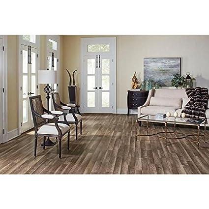 Amazon Trafficmaster 360731 00375 Grey Oak Laminate Flooring