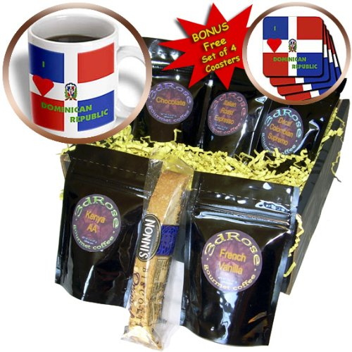 (Florene Décor II - I Love Dominican Republic - Coffee Gift Baskets - Coffee Gift Basket (cgb_55209_1))
