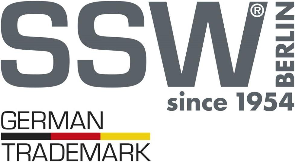 SSW Edelstahl Bräter Schlemmerbräter mit Deckel oval Induktion