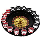 Dovewill Novelty Drinking Game Casino Roulette Set for Anniversary Celebration Gifts