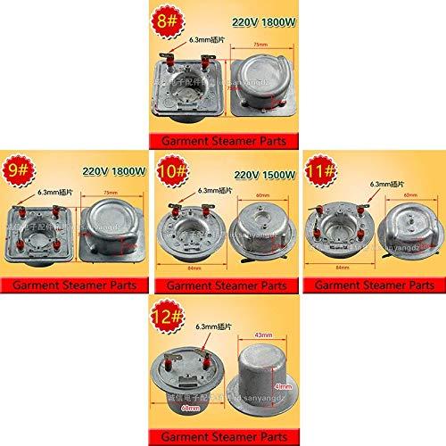 Best Quality 5 Models Hanging hot Machine Heating Body Home Hanging Ironing Machine Heater Heating Tube 220v 1800w Garment Steamer Parts