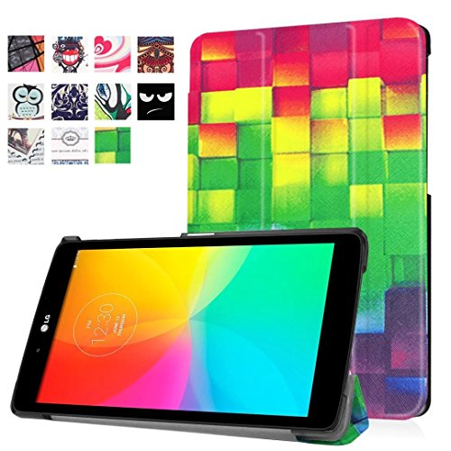 1x Clear LCD Screen Protector Film Guards, Ultra Slim Lightweight Standing Custom Fit Cover LG G Pad X 8.0 T-Mobile (V521) / at&T (V520) / LG G Pad III 8.0 ()