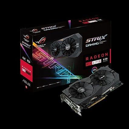 ASUS STRIX-RX470-O8G-GAMING Radeon RX 470 8GB GDDR5 ...