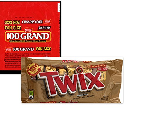 twix-100-grand-fun-size-bars-variety-bundle-includes-18-twix-fun-size-bars-18-100-grand-fun-size-bar