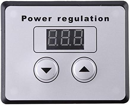 Walfront - Regulador de Intensidad Digital (10000 W, SCR, Control ...