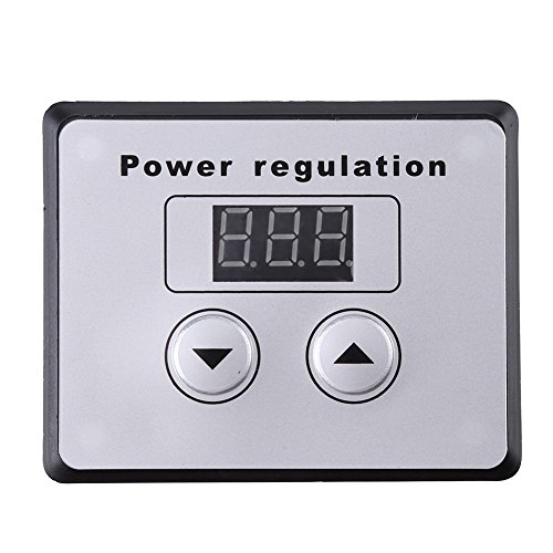 Dimmer Switch,10000W SCR Digital Voltage Regulator Speed Control Dimmer Thermostat AC 220V 80A by Walfront