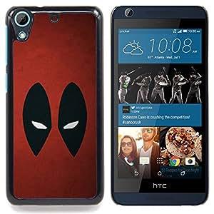 "Qstar Arte & diseño plástico duro Fundas Cover Cubre Hard Case Cover para HTC Desire 626 (Resumen de araña Superhéroe"")"