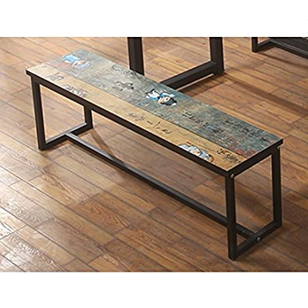 Stores bench loft wrought iron bench retro gym dressing room