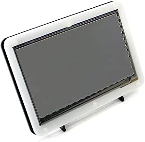 Raspberry pi 2 3 Model b 7 inch capacitive touch screen enclosure lcd display acrylic shell case + frame