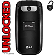 LG B470 3G Flip Phone GSM Unlocked Bluetooth Camera (at&t) World Phone (NOT CDMA Carriers like Verizon Sprint Boost Mobile Virgin)